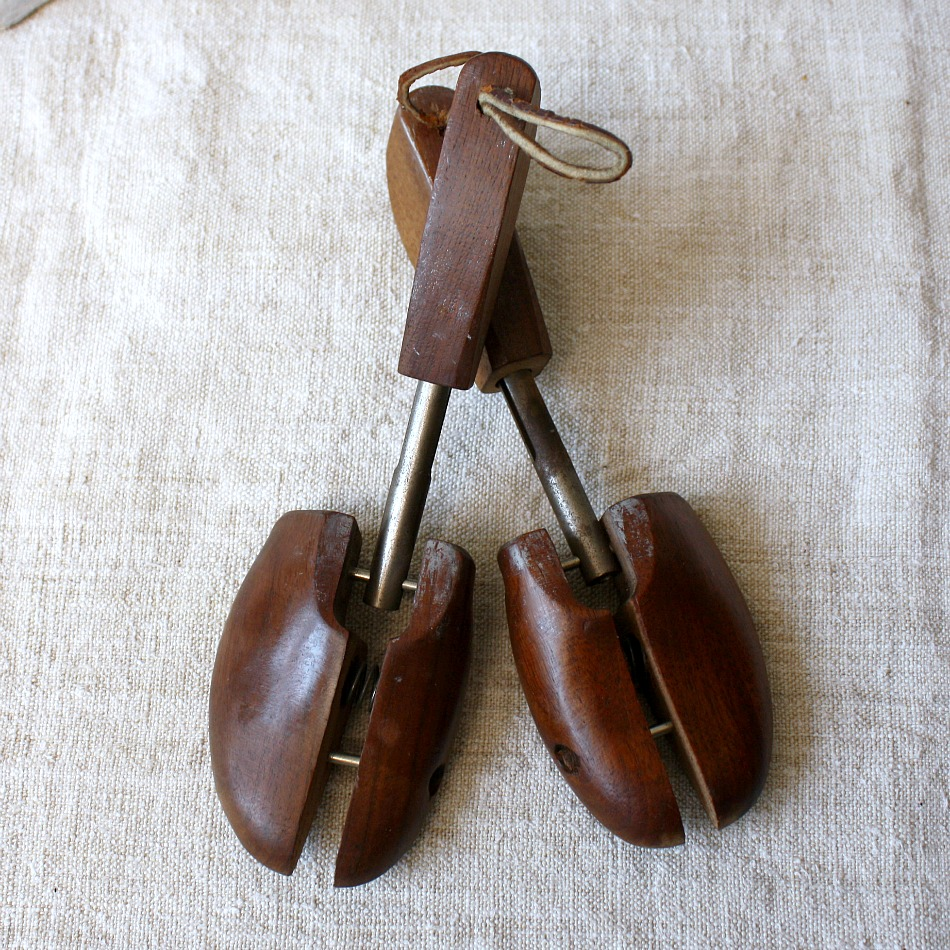 Vintage American Wood Shoe Stretchers Petite Rochester
