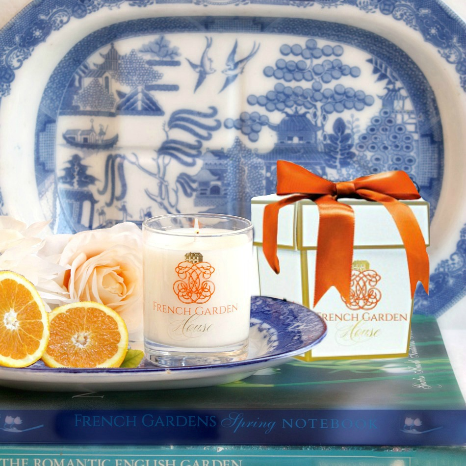 French Candle l'Orange The et Rose