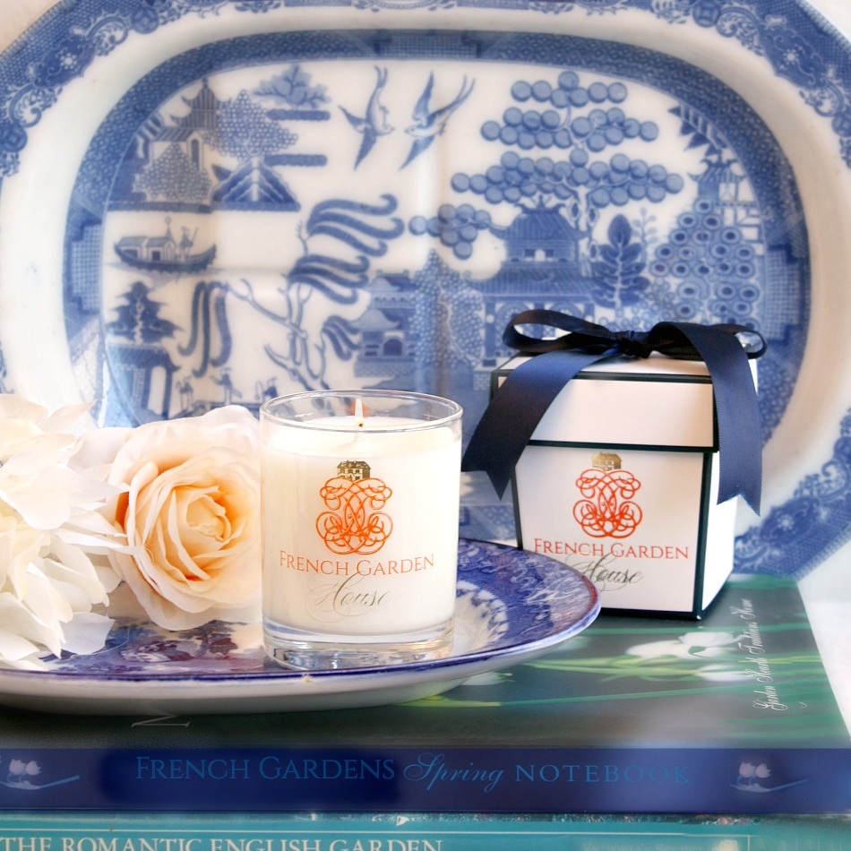 French Chinoiserie Tangerine Vanille Luxury Candle