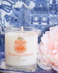French Chinoiserie Empress Garden Luxury Candle