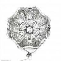 Antique French Christofle Silver Plate Tea Strainer Basket