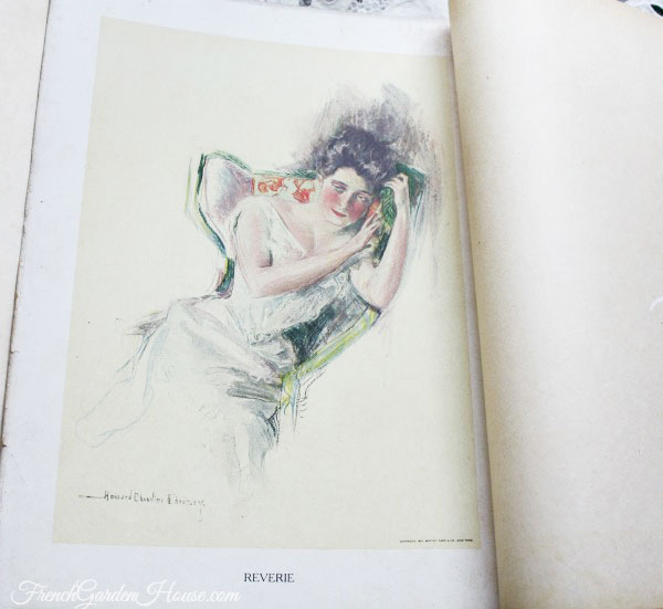 Antique First Edition OUR GIRLS Howard Chandler Christy