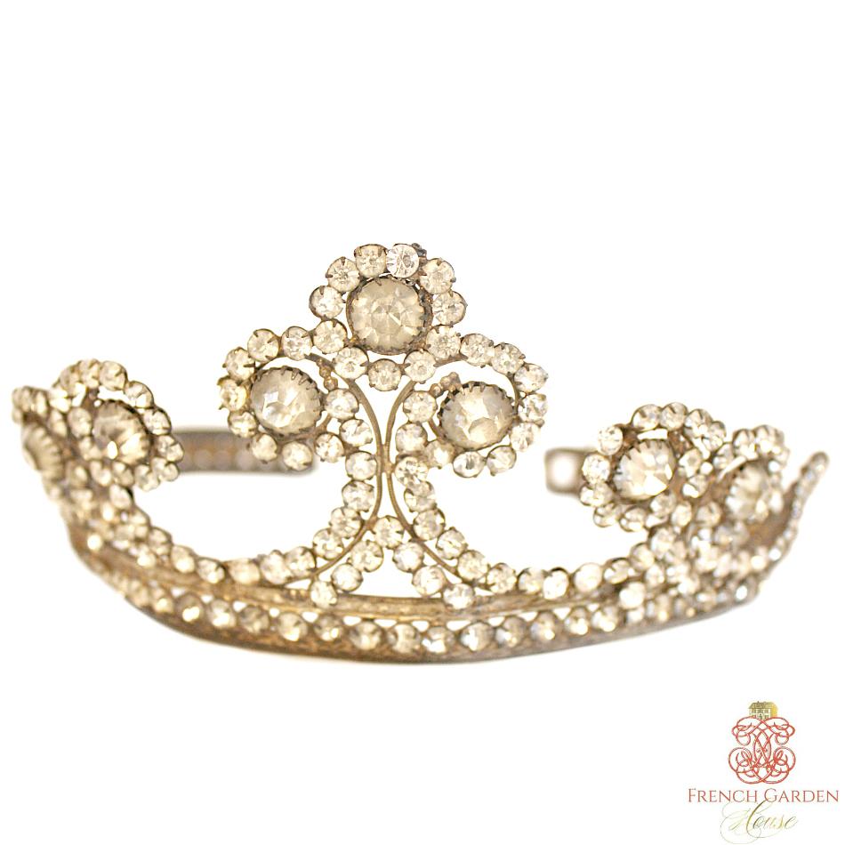 Antique Madonna Tiara Religious Crown