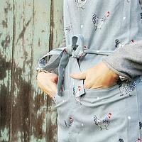 Country Chickens Apron