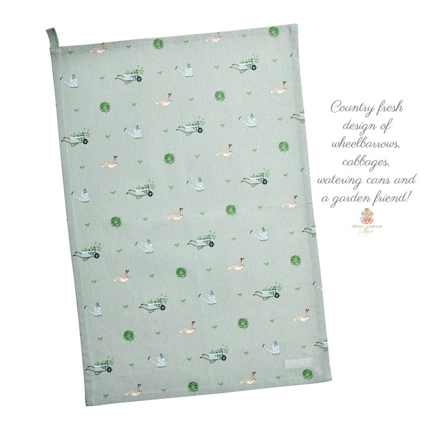 Country Garden Towel