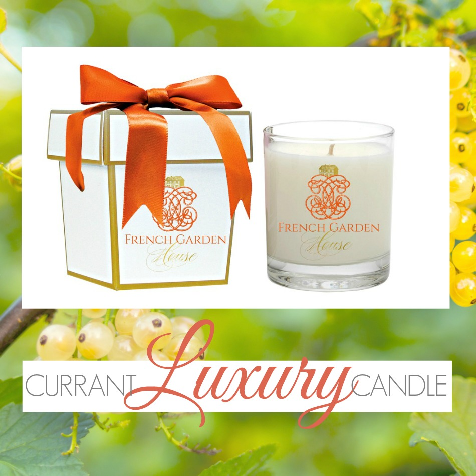 NEW! Signature Candle French Country Currant Blanc