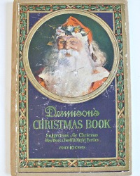 1st Edition Art Deco Dennison's Christmas Book Parties New Year's & Twelfth Night