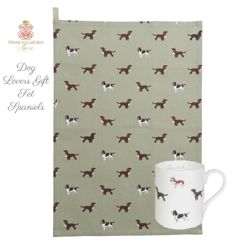 Dog Lovers Gift Set Spaniels