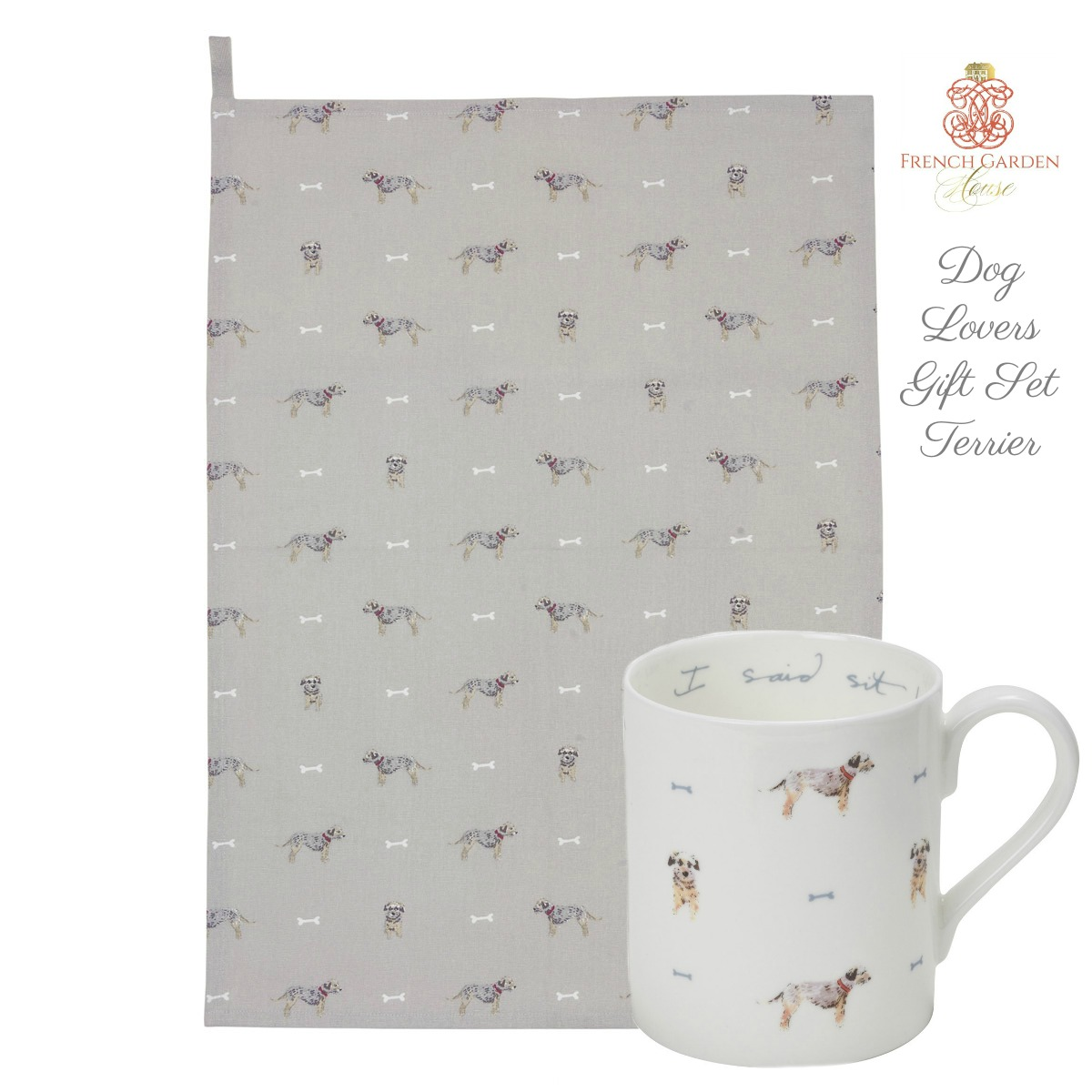 Dog Lovers Gift Set Terrier