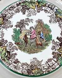 English Copeland Spode Byron Tea Stand