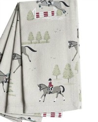 Country Equestrian Napkins Set of 4