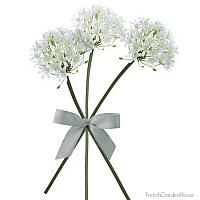 Normandy White Lily Stems