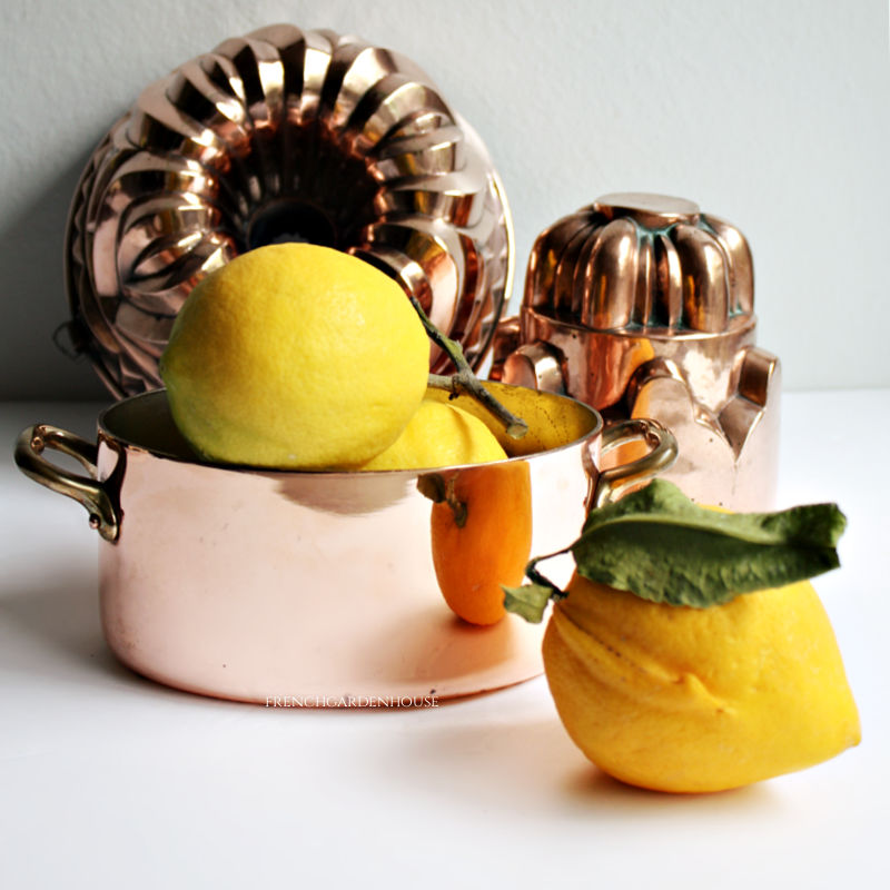 French Copper Oval Cocotte