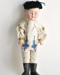 Vintage Celluloid Folkloric Boy Doll