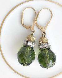 Foret Verte Earrings