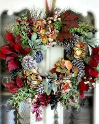 Forest Glow Wreath