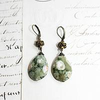 Dauphin Foret Jasper Earrings