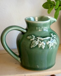 French Country Small Single Serving Cafe Wine Pitcher