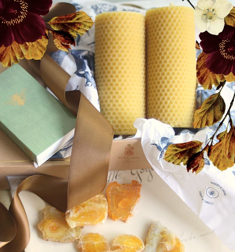 French Artisan Beeswax Candle Gift Set