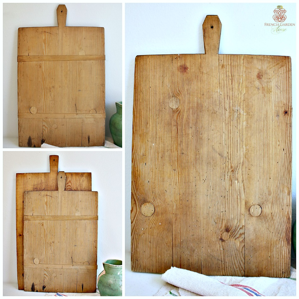 Antique French Boulangerie Board Rectangle