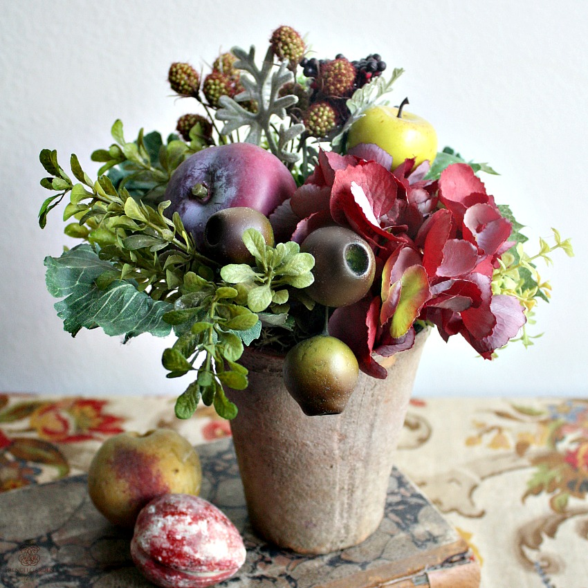 French Country Fruit of the Season Topiary