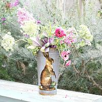 Limited Edition French Country Jardiniere Hare