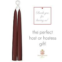 L'Amour Red Wine Taper Candles Hostess Gift Set