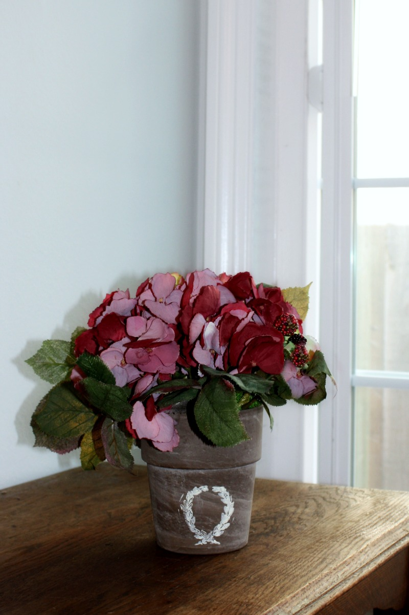 Country Garden Hydrangea Arrangement