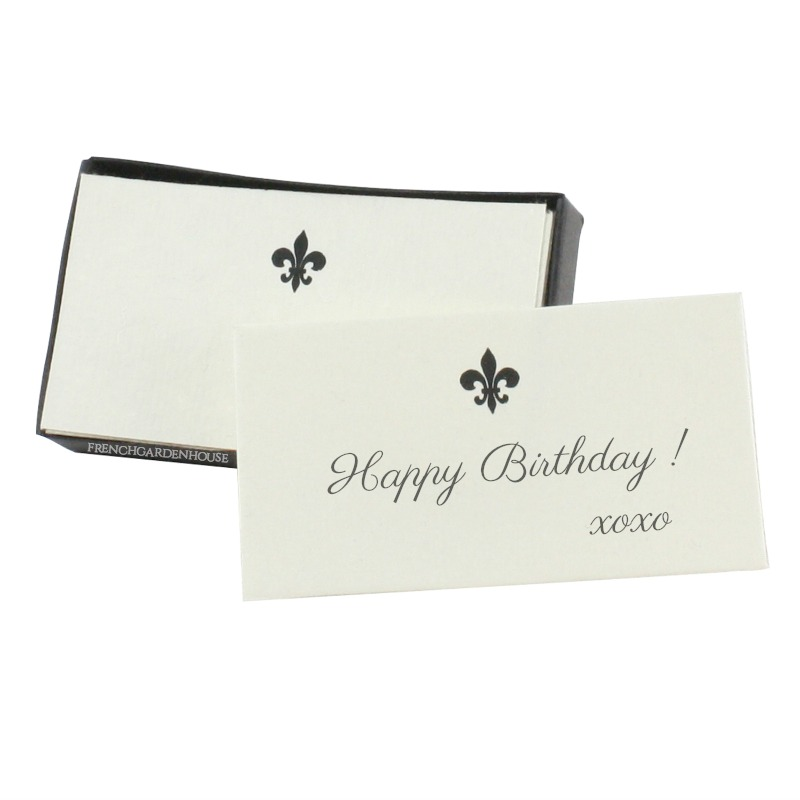 Fleur de Lis Place Card Holders and Name Cards Set 4