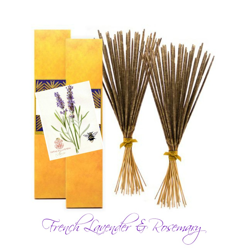 Luxury French Lavender Perfumed Burning Sticks