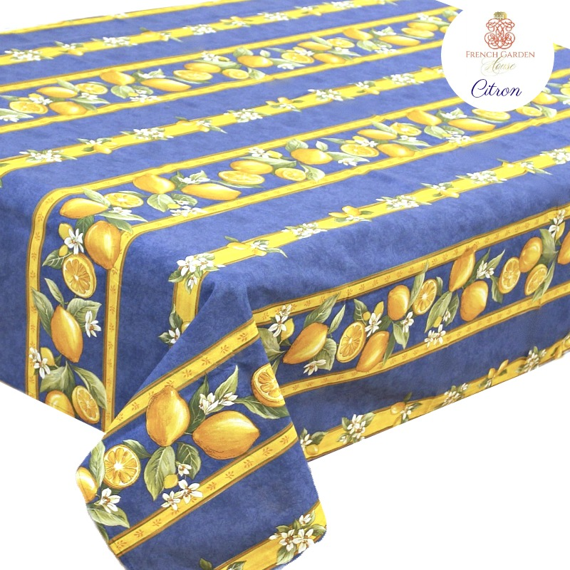 French Avignon Cotton Menton Tablecloth - LAST FEW!