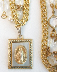Sacred Jewels French Madonna Necklace
