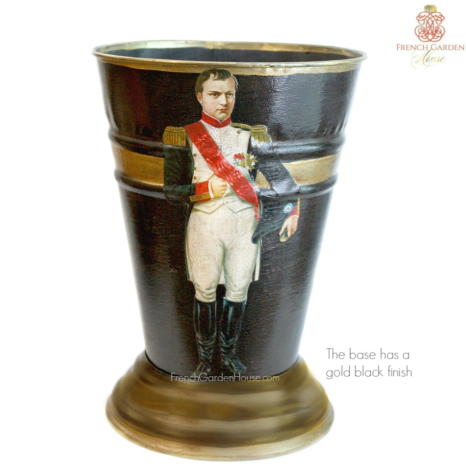 NEW! Limited Edition French Country Cachepot Napoleon Noir