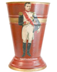 NEW! Limited Edition French Country Cachepot Napoleon Rouge