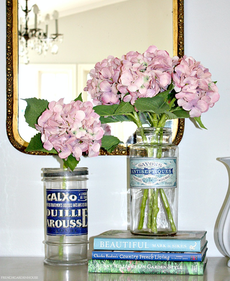 Hydrangea Stems Macaron Pink