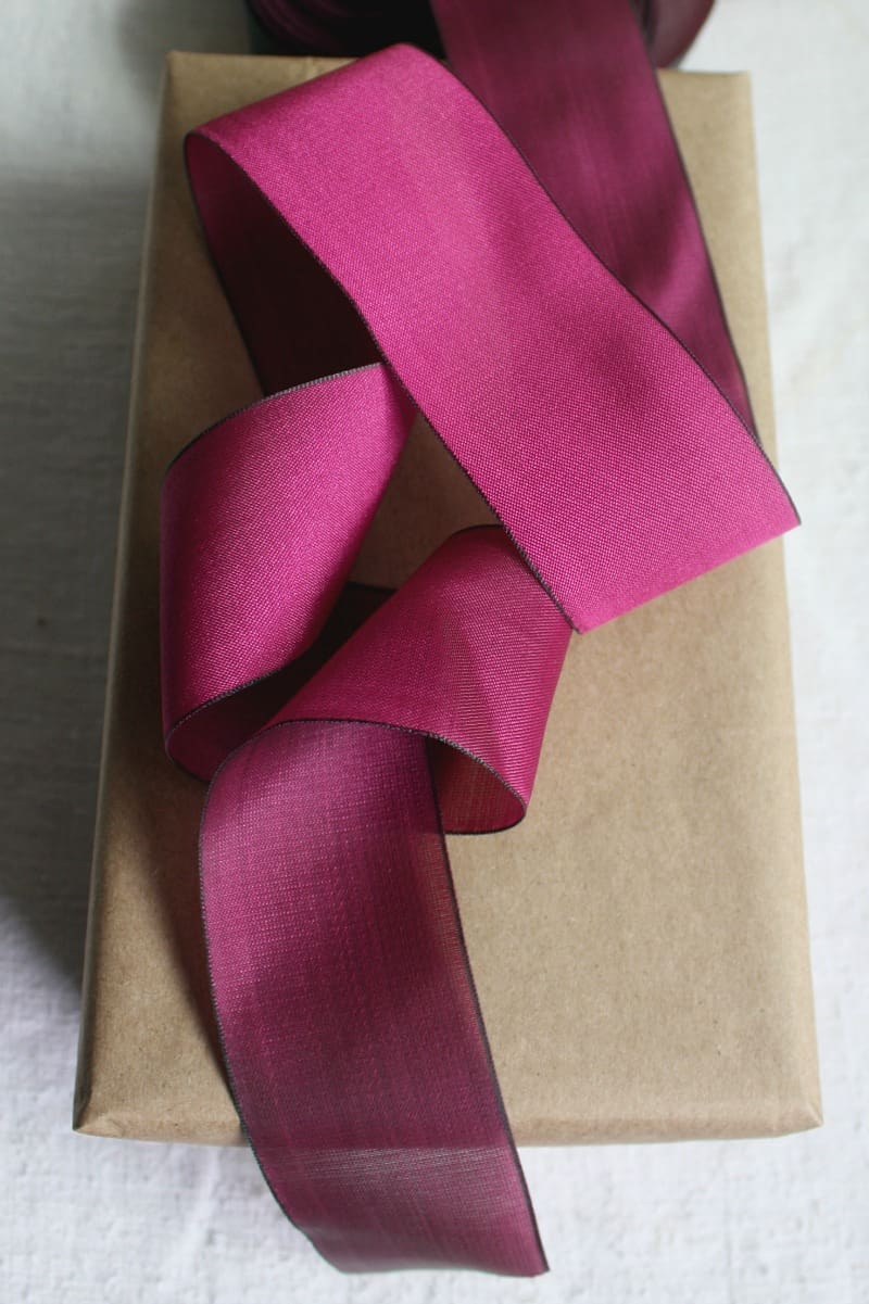 French Plum Preserve Ribbon