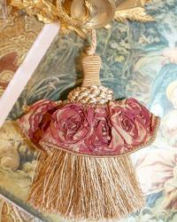 Petite Trianon Rose Gold Decorative Tassel