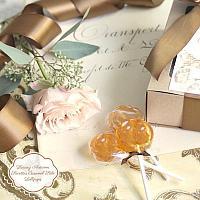 Luxury Autumn Sucettes Caramel Salé Lollipops Gift Box
