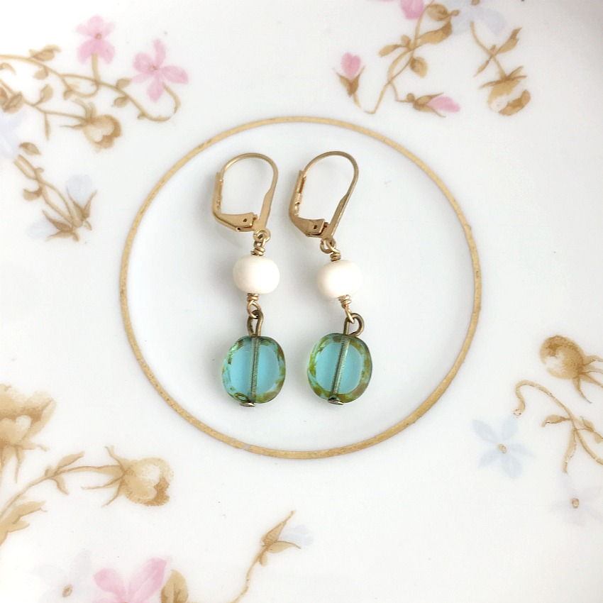 Creme de La Mer Earrings