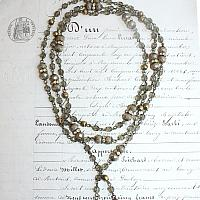 French At Heart Lariat Necklace