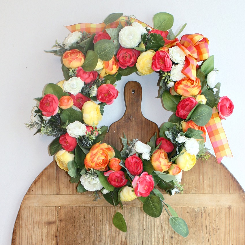 French Country Brights Wreath