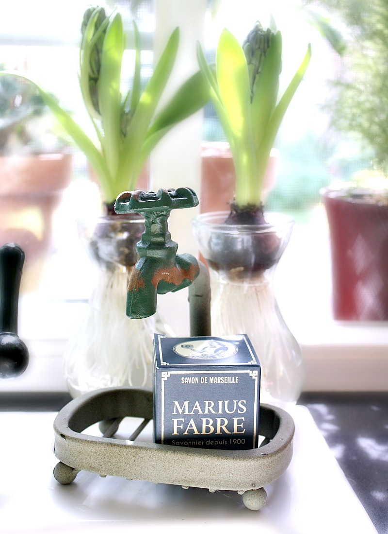 French Gardener's Soap & Faucet Holder Gift