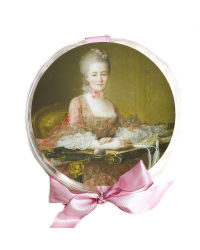 French Gardenia Rose Soap Petals Gift Box