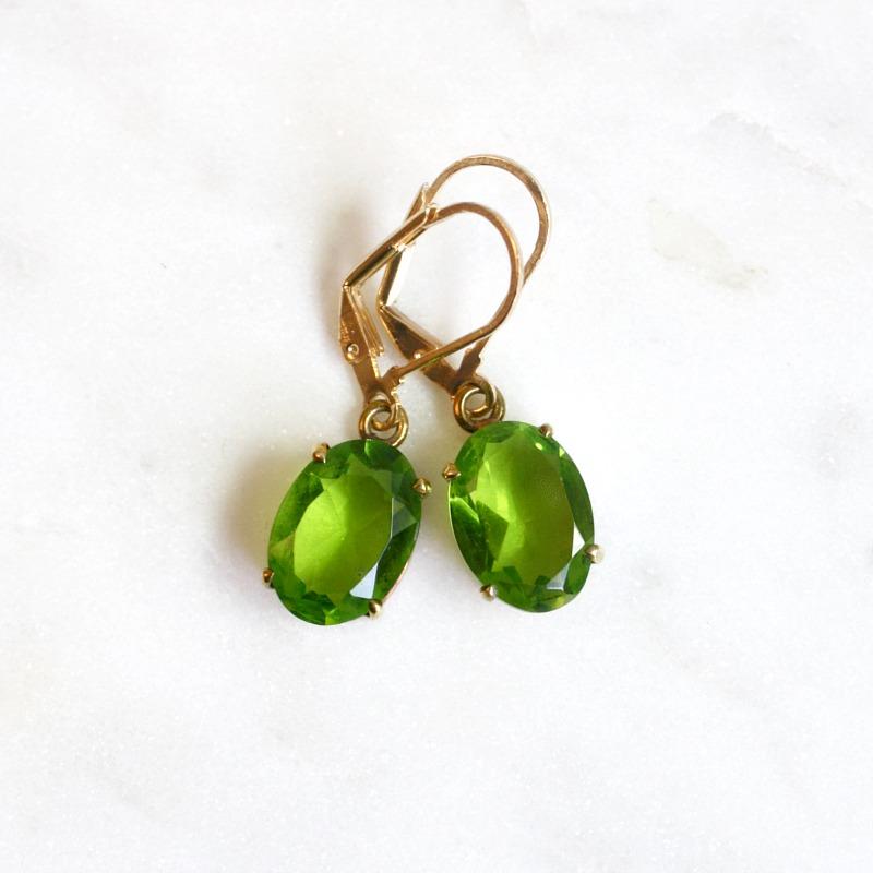 Emerald Isle Peridot Earrings