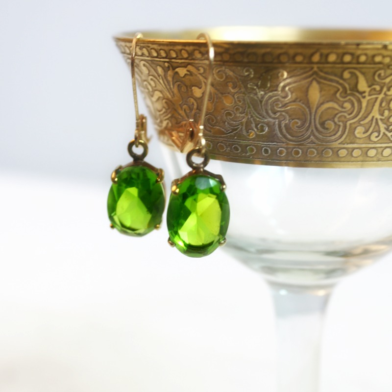 Emerald Isle Peridot Earrings