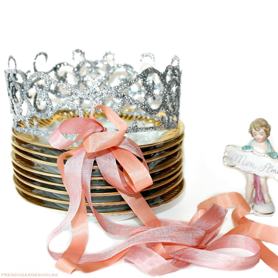 Glitter Birthday Celebration Crown Tiara Lrg.