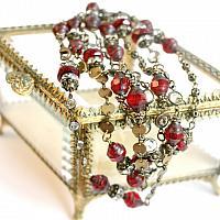 J'adore Rouge Wrap Necklace