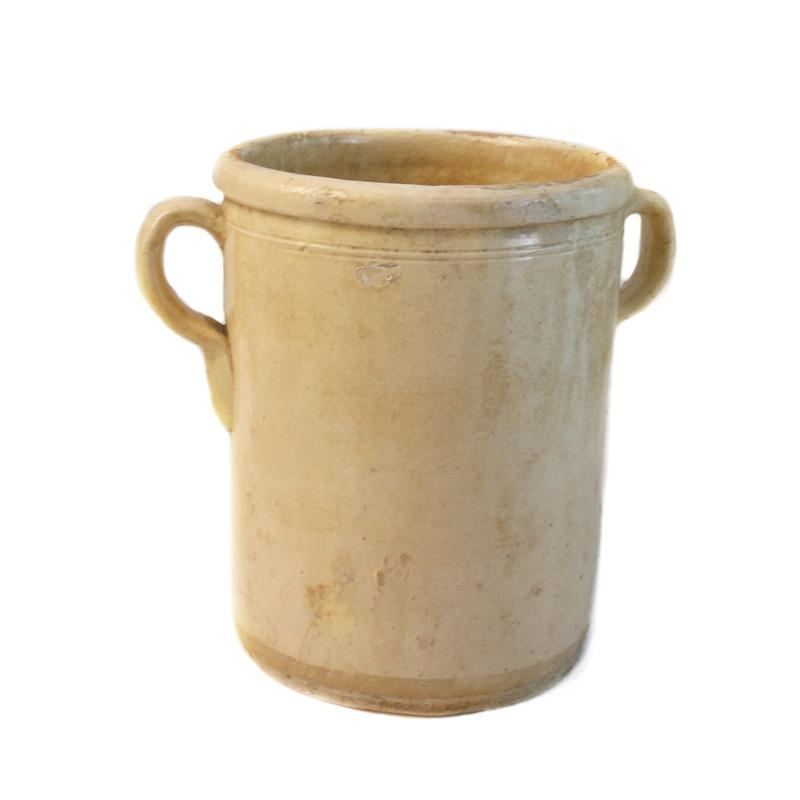 19th Century French Faience Sardine Jar 2C
