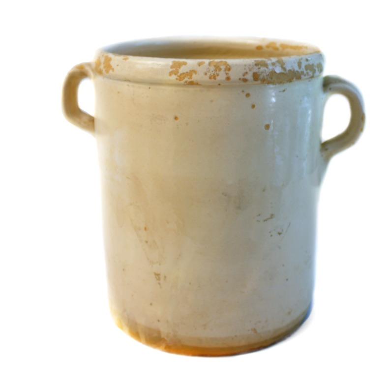 19th Century French Faience Sardine Jar B
