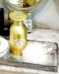Luxury Body Powder and Duster Set